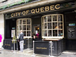 City of Quebec pub