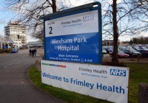 Frimley NHS Foundation Trust hospital Wrexham Park
