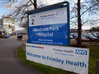 Frimley NHS Foundation Trust hospital Wrexham Park