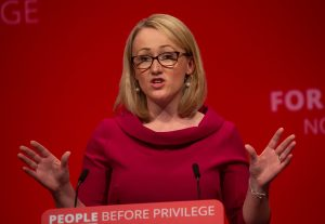 Rebecca Long-Bailey, shadow secretary of state for business, energy and industrial strategy