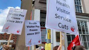 Save Health Visitor posts