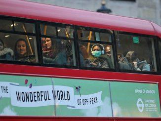 London bus during coronavirus crisis