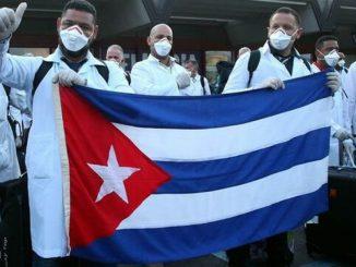 Cuban doctors arrive in Spain