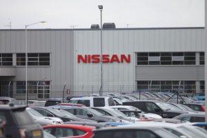 Nissan car plant