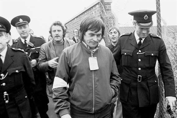 Police arrest Tony Merrick