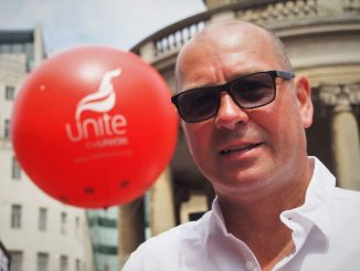 Steve Turner, Unite AGS