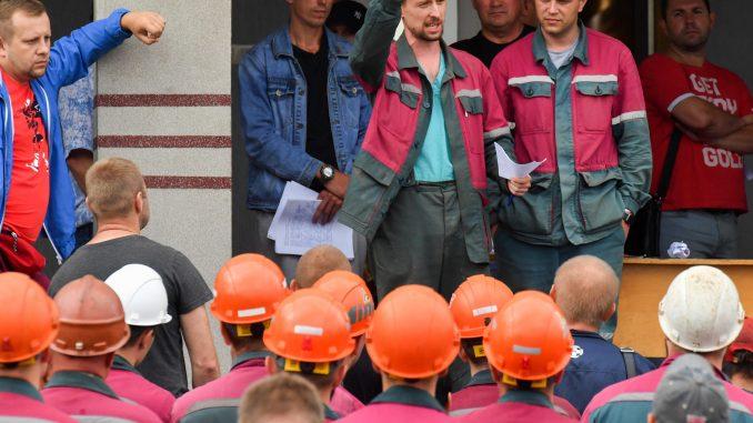 Belarus workers strike
