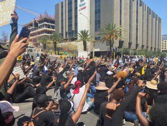 Namibia protest gender-based violence