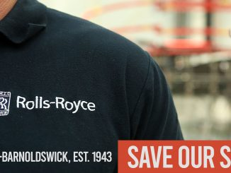 Rolls Royce strike for jobs