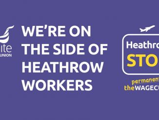 Support Heathrow workers