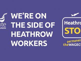 Support Heathrow workers