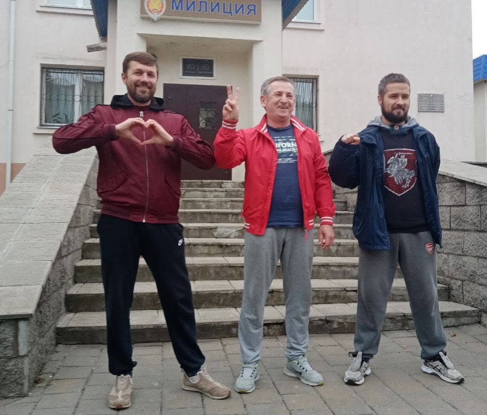 Freed Belarus trades unionists