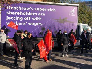 Heathrow strikers