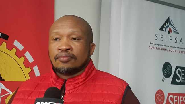 Irvin Jim General Secretary NUMSA