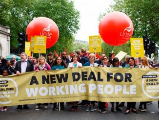 New deal for working people TUC march