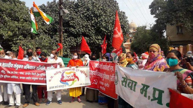 Indian farmers strike