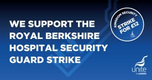 Support Royal Hospital Berkshire security guards