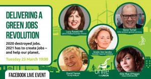 Delivering a green jobs revolution