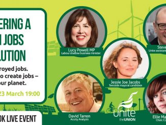 Delivering a green jobs revolution