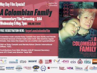 Justice for Colombia film screening