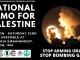 National demonstration for Palestine