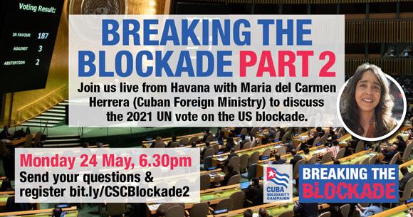 Cuba: Breaking the Blockade