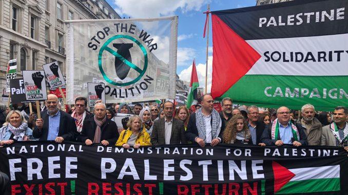 Palestine demonstration