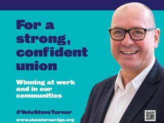 Steve Turner United Left GS candidate