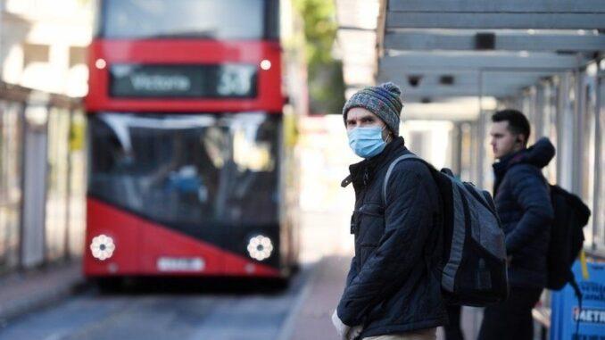 London buses masks