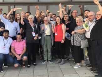 Retired Members Plus support Steve Turner